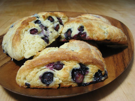 blueberry-scones
